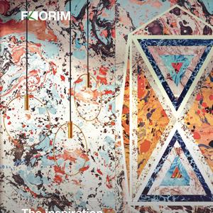 L'ispirazione delle carte marmorizzate. Araldica by Federico Pepe per CEDIT