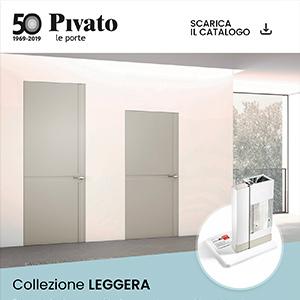 Porta priva di stipite e coprifilo Leggera by Pivato: scopri la promo