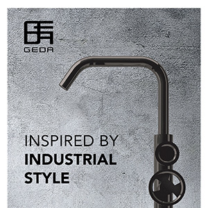 Rubinetteria Geda: suggestioni industriali