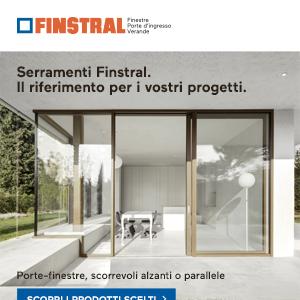 Serramenti Finstral: estetica e funzionalità. Richiedi copia magazine