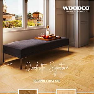 Quadrotte Signature: lavorazioni artigianali by Woodco
