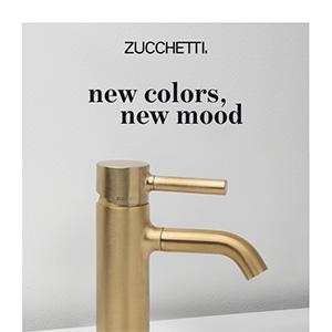 Rubinetteria Zucchetti PAN: nuovi colori, nuovi mood