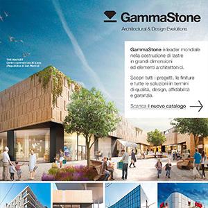GammaStone: pannelli piani ed elementi architettonici monolitici di grandi dimensioni per facciate