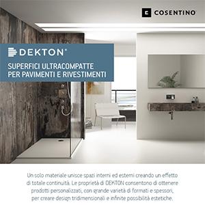 Superfici ultracompatte Dekton: infinite soluzioni creative per pavimenti e pareti