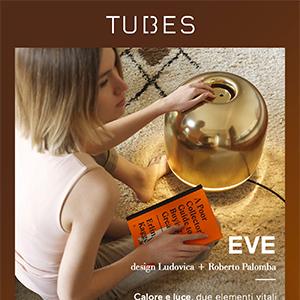 Calore e luce, corpo scaldante elettrico dalla doppia funzionalità: Eve by Tubes