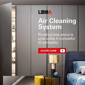 Armadi con sanificatore Lema Air Cleaning System