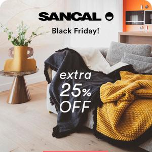 Sancal Black Friday: -25% extra dal 29/11 al 2/12
