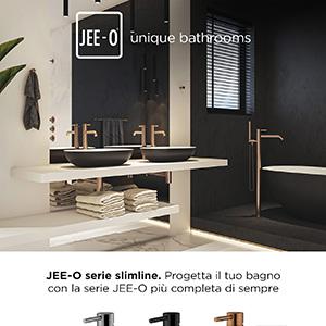 Progetta il tuo bagno con la serie slimline di JEE-O