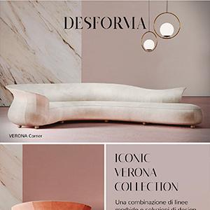 Desforma, divani curvi e poltrone dalle linee armoniose: Verona Collection