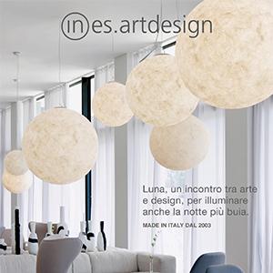 Scopri la nuova lampada Luna Liberty di In-es.artdesign