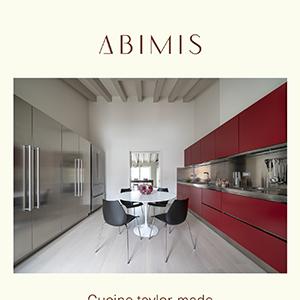 Cucine tailor-made Abimis per spazi unici e altamente funzionali
