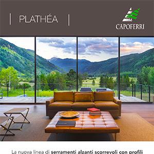 Serramenti ultrasottili Plathéa by Capoferri