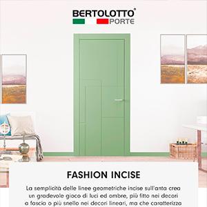 Bertolotto Porte: nuova collezione Fashion Incise