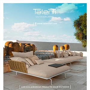 Talenti outdoor living: collezione Cruise