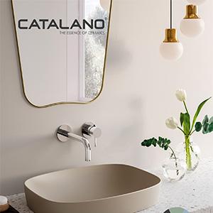 Ceramica Catalano: morbide tonalità per la stanza da bagno