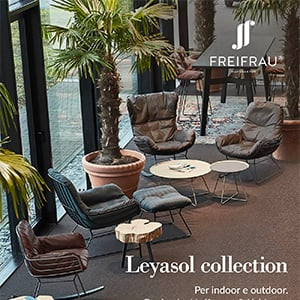 Nuove sedute indoor e outdoor Freifrau: scopri Leyasol