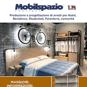 Mobilspazio: produzione di arredi per Hotel, Residence, Studentati, Foresterie, comunità