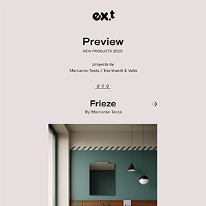 Lavabi, vasche e complementi d'arredo Ex.t: scopri le novità 2020