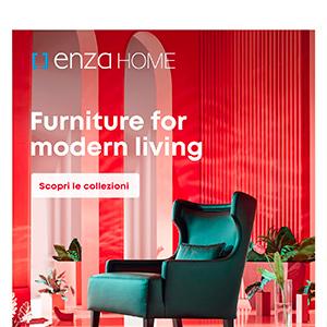 Arredi per un living moderno: Enza Home
