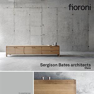 Sergison Bates architects interpreta il tema della credenza per Fioroni