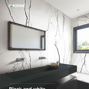 L'effetto marmo bianco e nero