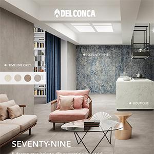 Ceramica del Conca Seventy-nine: il gres ispirato alle cementizie industriali