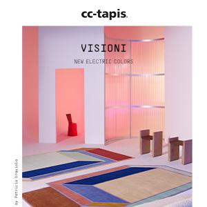 Visioni cc-tapis: nuovi colori elettrici by Patricia Urquiola