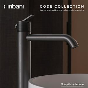 Rubinetti Inbani, collezione CODE: estetica e funzionalità
