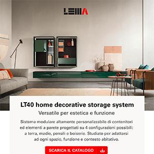 Lema LT40: il sistema modulare per ogni contesto abitativo