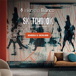 Sketchbook, carte da parati illustrative: nuova collezione Inkiostro Bianco