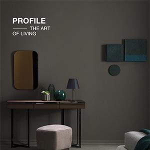 Console, madie e comodini in noce canaletto Profile collection, Bodema