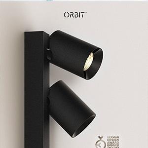 Faretti modulari dimmerabili per soffitti e pareti: Tublr Sideways by Orbit