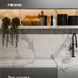 Florim Stone: il top cucina in gres porcellanato