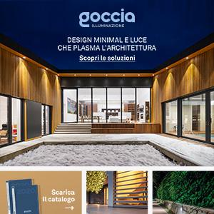 Goccia Illuminazione outdoor: luce che plasma l'architettura