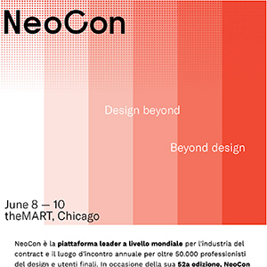 NeoCon, la fiera dedicata all'innovazione del contract | Chicago 8-10 giugno