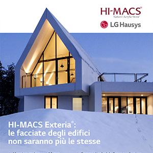 Facciate straordinarie con la nuova gamma HI-MACS Exteria