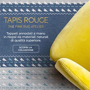 Tappeti annodati a mano Tapis Rouge, collezione Val Camonica