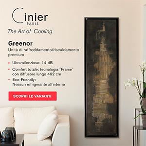 Cinier Greenor: l'arte del raffreddamento