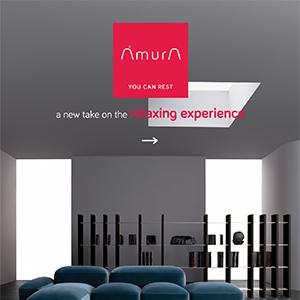 Sofa modulare Lapis Amura: new relax experience