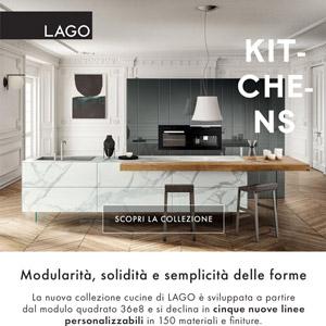 Lago nuove cucine personalizzabili, progettale online!