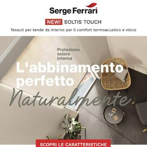 Schermatura solare e comfort acustico: Soltis Touch, la novità by Serge Ferrari