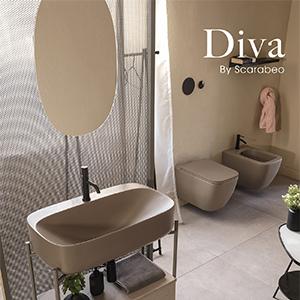 DIVA, la nuova idea di arredo bagno Scarabeo