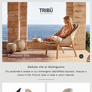 Tribù, sedute in corda intrecciata Tricord: nuova collezione Elio