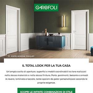 Il total look per la tua casa firmato Garofoli