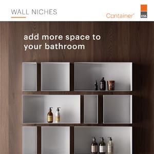 Più spazio in bagno: serie Container by ESS