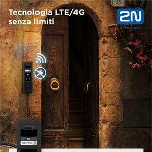 Il primo citofono al mondo LTE/4G: 2N LTE Verso
