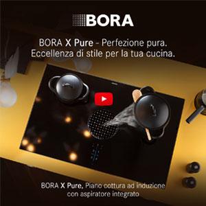 Piano cottura ad induzione con aspiratore integrato BORA X Pure