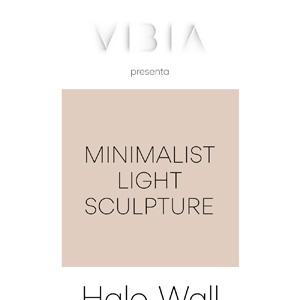 Halo Wall by Vibia: minimalist light sculpture