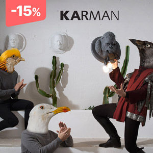 Karman illumina la creatività: -15% fino al 22 maggio