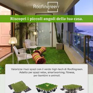 Roofingreen, il verde per terrazzi e tetti piani che valorizza la tua casa